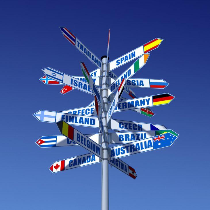 panneaux Salon mondial du tourisme