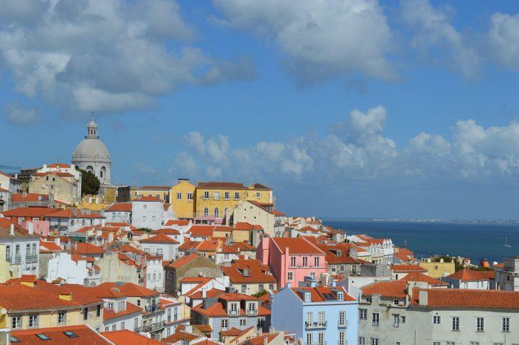 La ville de Lisbonne au Portugal